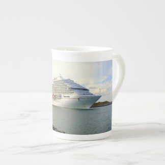Portrait of a Passing Cruise Ship Tea Cup