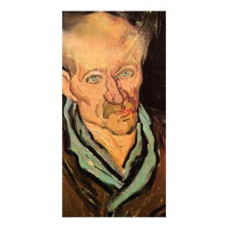 Portrait of a Patient at Saint-Paul  by van Gogh Photo Cards