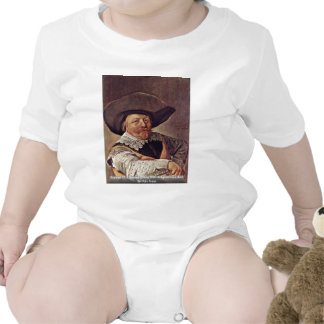 Portrait Of A Seated Officer With Aufgestützem Arm Baby Bodysuits