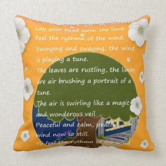 Portrait Of A Song. Cushion