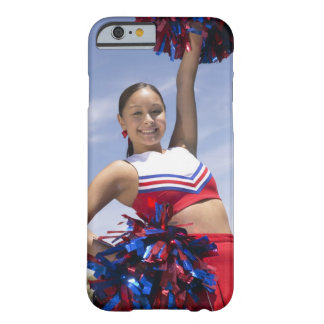 Portrait of a Teenage Cheerleader Holding Barely There iPhone 6 Case