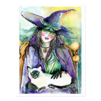 Portrait of a Witch POSTCARD