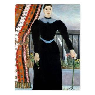 Portrait of a Woman, 1895 Postcard