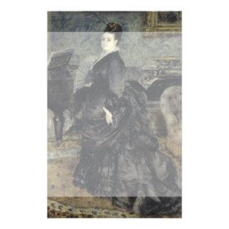 Portrait of a Woman by Pierre-Auguste Renoir Full Color Flyer