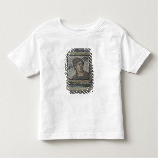 Portrait of a woman, detail of a mosaic pavement d shirts