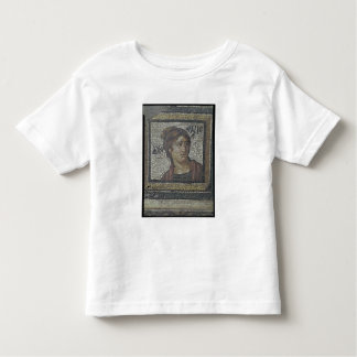 Portrait of a woman, detail of a mosaic pavement d tees