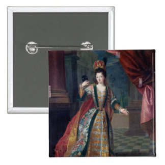 Portrait of a Woman in a Ball Gown 15 Cm Square Badge