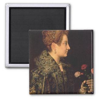 Portrait of a Woman Magnets