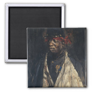 Portrait of a Wounded Soldier Magnet