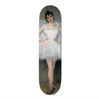 Portrait of a Young Ballerina Skate Board