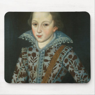 Portrait of a Young Boy, Aged Five Mouse Pad