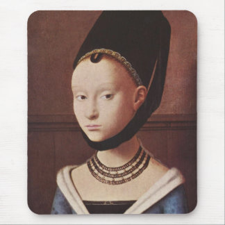 Portrait of a Young Girl Mousepad