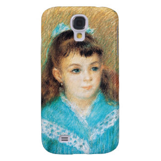 Portrait of a Young Girl Pierre Auguste Renoir art Galaxy S4 Covers
