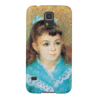 Portrait of a Young Girl Pierre Auguste Renoir art Galaxy S5 Cases