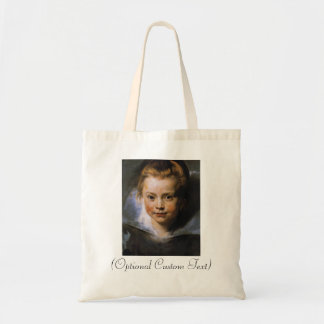 Portrait of a Young Girl Tote Bag