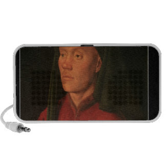 Portrait of a Young Man, 1432 Laptop Speakers
