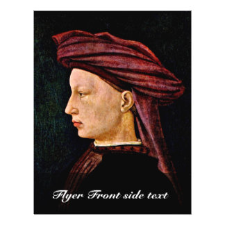 Portrait Of A Young Man In Profile By Masaccio (Be Flyer
