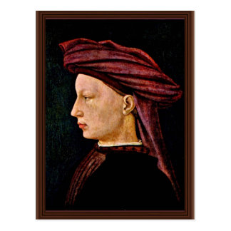 Portrait Of A Young Man In Profile By Masaccio (Be Postcards