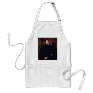 Portrait Of A Young Man (The Young Englishman) Standard Apron