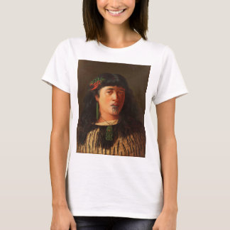 'Portrait of a Young Maori Woman with Moko' T-Shirt