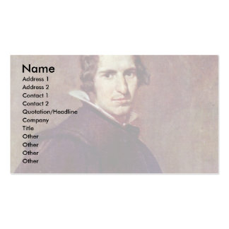 Portrait Of A Young Spaniard By Diego Velázquez Business Card Templates