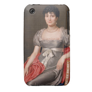 Portrait of a Young Woman Seated Three-Quarter Len iPhone 3 Cover