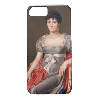 Portrait of a Young Woman Seated Three-Quarter Len iPhone 7 Case