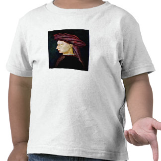 Portrait of a youth in profile by Masaccio Tees