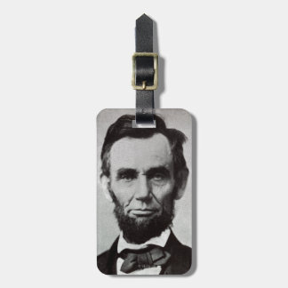 Portrait of Abe Lincoln 2 Luggage Tag