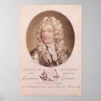 Portrait of Abraham Duquesne Poster