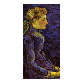 Portrait of Adeline Ravoux by Vincent van Gogh Personalised Photo Card