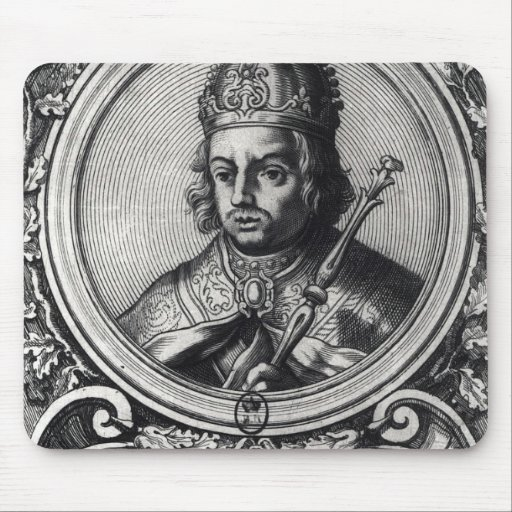 Portrait of Alfonso X  'the Wise' Mousepad