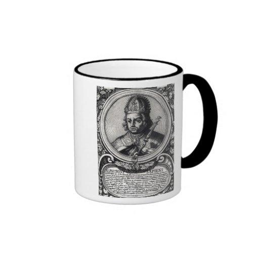 Portrait of Alfonso X  'the Wise' Coffee Mug