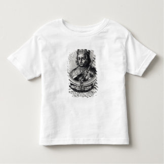 Portrait of Alfonso X  'the Wise' Toddler T-Shirt