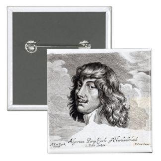 Portrait of Algernon Percy Pinback Button