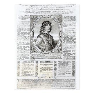 Portrait of Algernon Percy Postcard