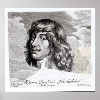 Portrait of Algernon Percy Posters