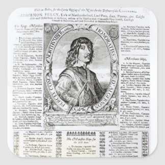 Portrait of Algernon Percy Stickers