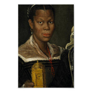Portrait of an African Slave Woman Poster