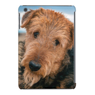 Portrait of an Airedale Terrier 2 iPad Mini Retina Cover