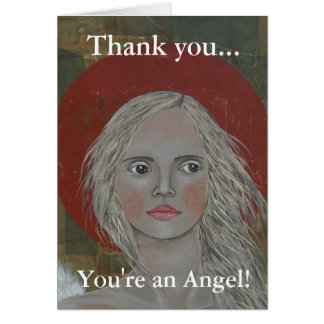 Portrait of an Angel Card