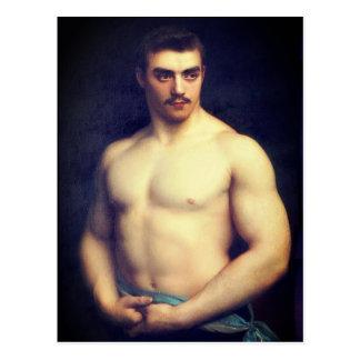 Portrait of an Athlete Postcard