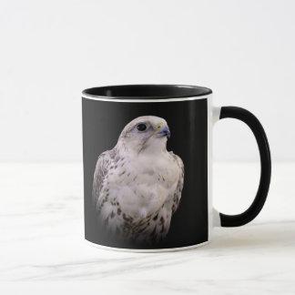 Portrait of an Inquisitive Saker Falcon Mug