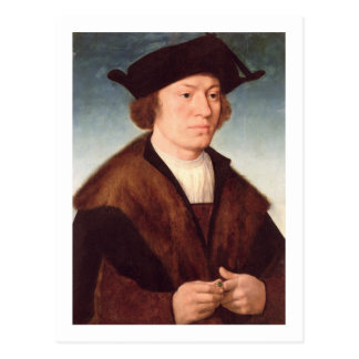Portrait of an Unknown Man, 1520 (oil on panel) Postcard