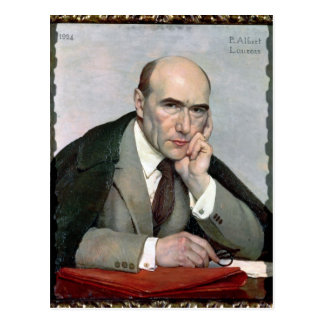 Portrait of Andre Gide  1924 Postcard
