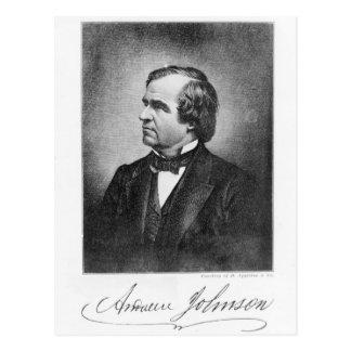 Portrait of Andrew Johnson Postcard