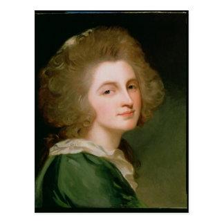 Portrait of Ann Barbara Russell Postcard