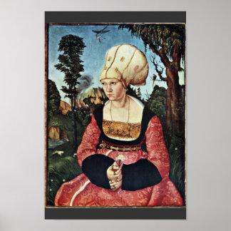 Portrait Of Anna Cuspinian By Cranach D. Ä. Lucas Print