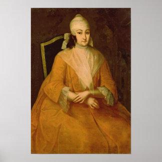 Portrait of Anna Leopoldovna Poster