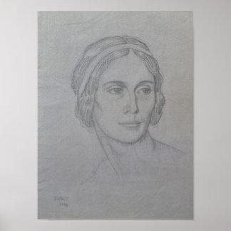 Portrait of Anna Pavlova , 1908 Print